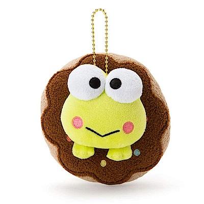 Sanrio 大眼蛙黑板塗鴉系列甜甜圈泳圈造型玩偶吊鍊