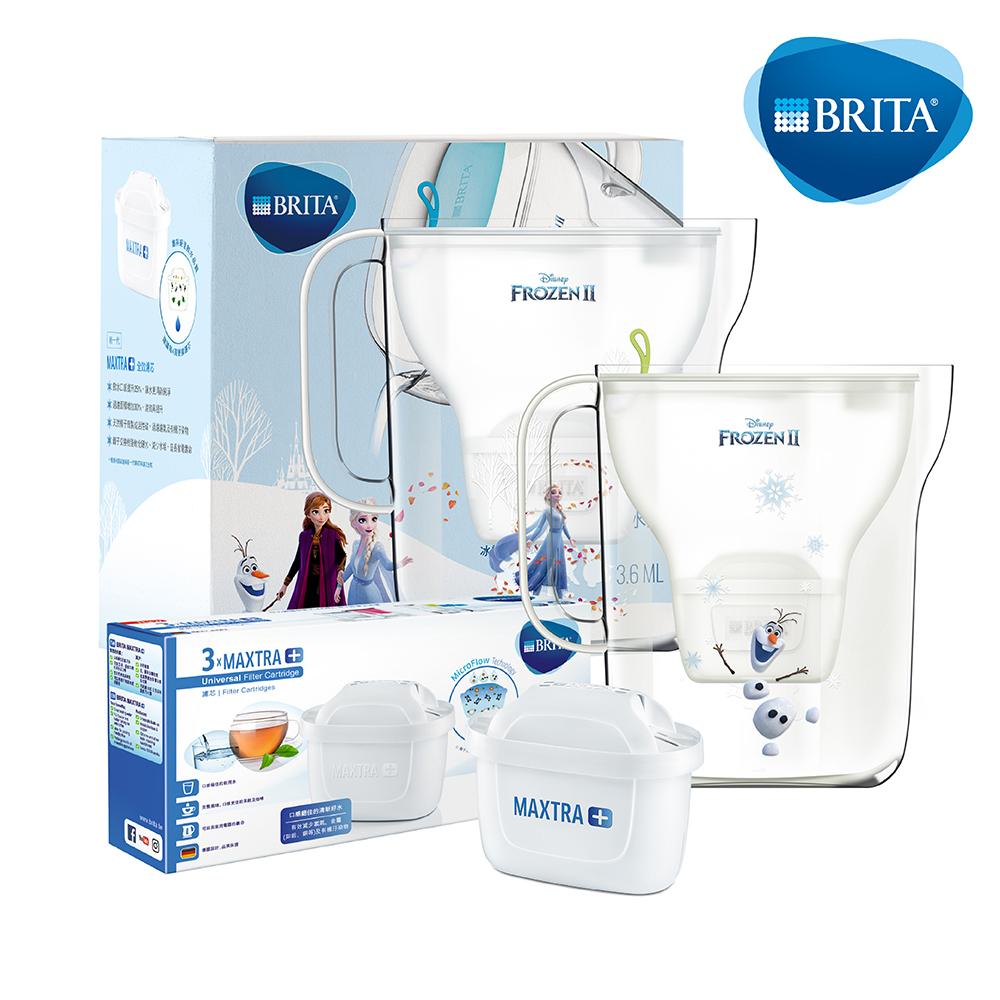 BRITA Style 3.6L濾水壺冰雪奇緣限定款(內含1入濾芯)