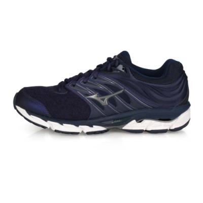 MIZUNO 男 慢跑鞋 WAVE PARADOX 5 丈青紫鐵灰