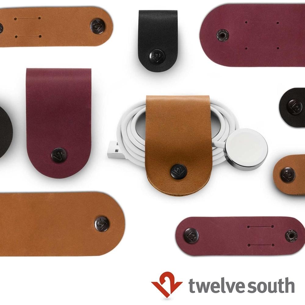 Twelve South CableSnap 真皮集線器(三件組)