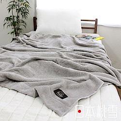 日本桃雪今治飯店毛巾被(淺灰)