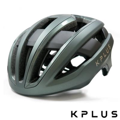 KPLUS 單車安全帽S系列公路競速360度全視角反光警示系統NOVA Helmet-夜幕綠