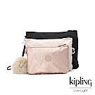 Kipling 金屬光暈微醺粉多袋實用配件包-IAKA L WRISTLET
