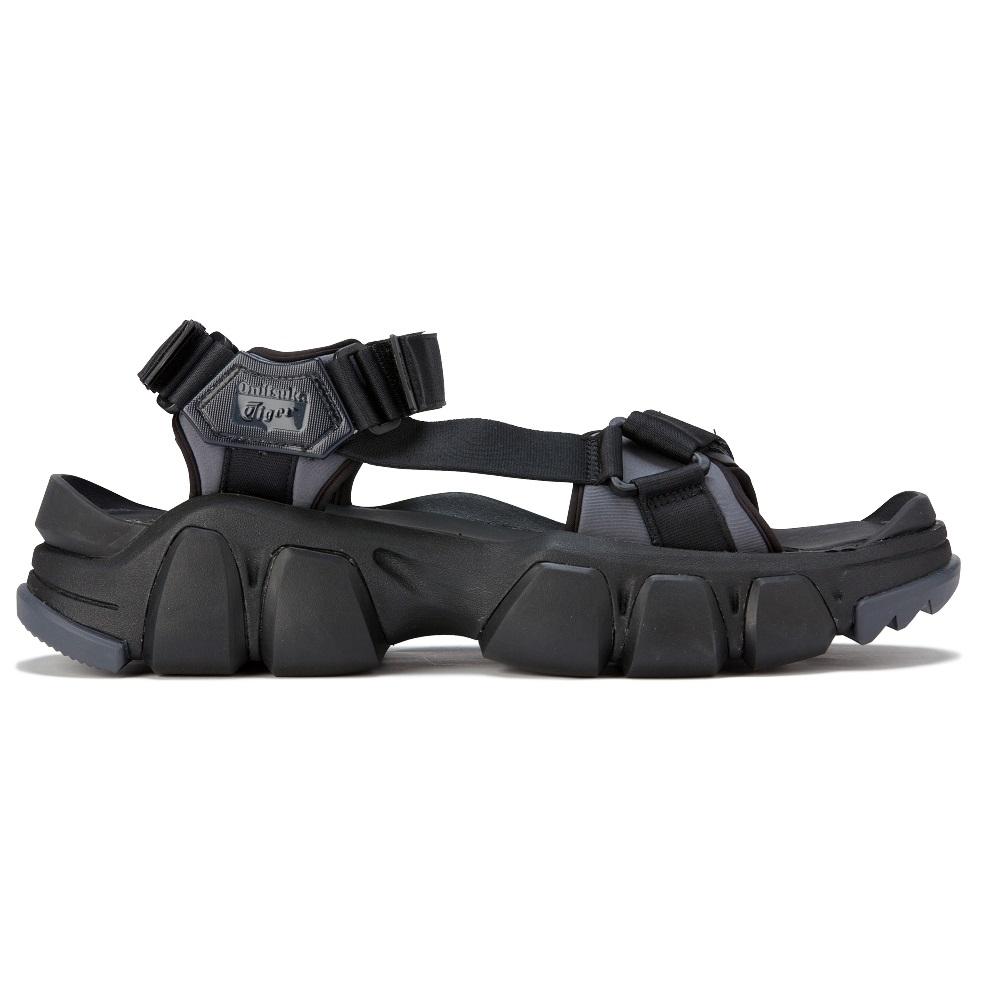 Onitsuka Tiger鬼塚虎- DENTIGRE STRAP 潮流休閒涼鞋 黑色1183B256-001