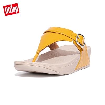 FitFlop LULU GLITTER ADJUSTABLE TOE-POST SANDALS 可調整式夾腳涼鞋-女(蜜黃色)