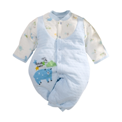 台灣製三層棉反包護手兩用兔裝 b0236 魔法Baby