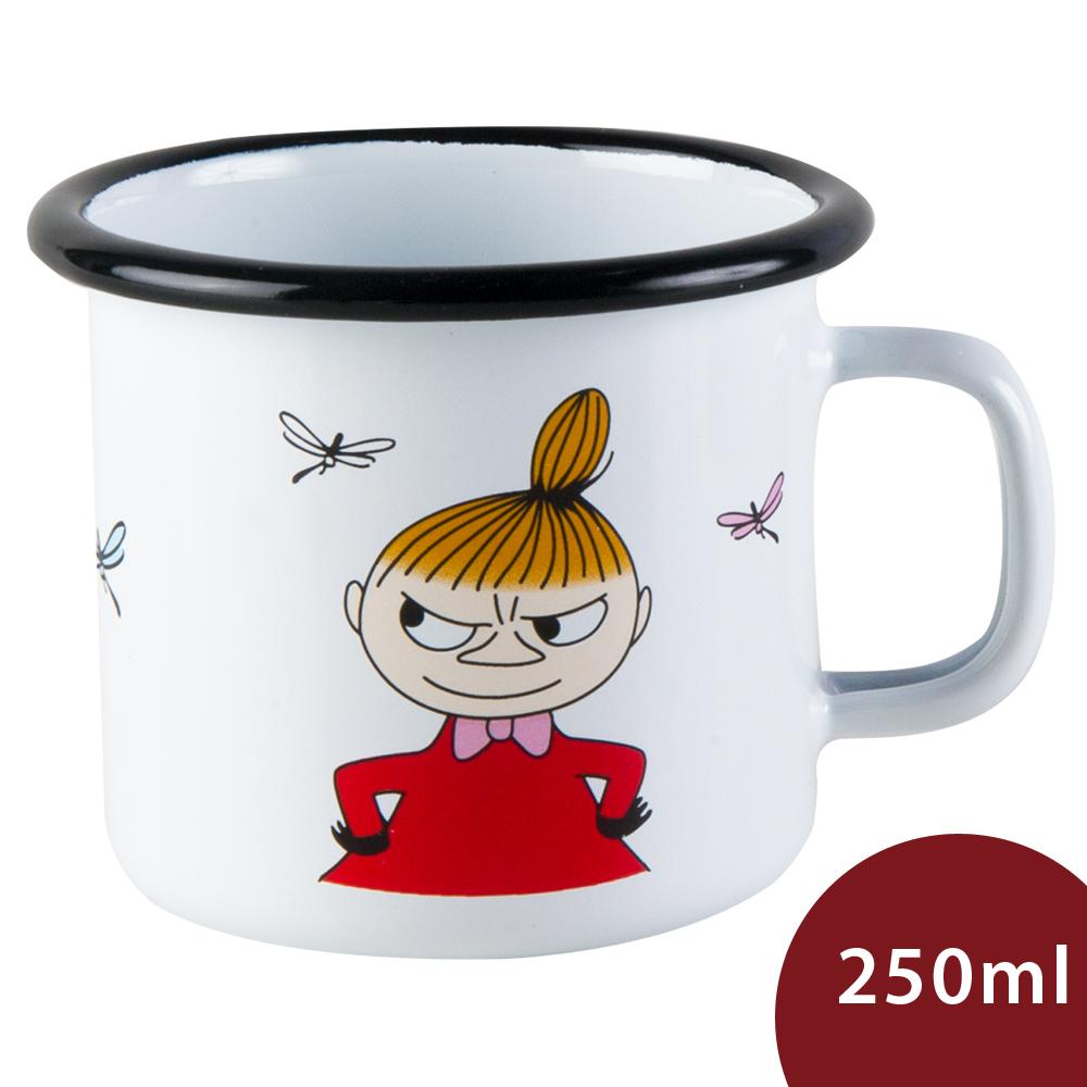Muurla 嚕嚕米馬克杯 小不點 白色 250ml