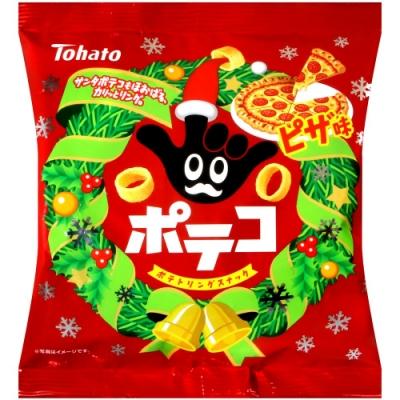 Tohato東鳩 手指圈圈餅-披薩風味[期間限定](63g)