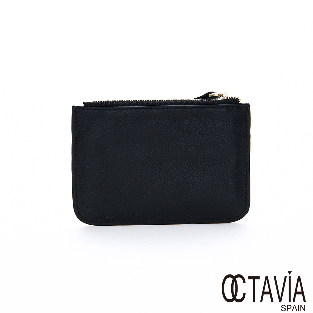 OCTAVIA 8 -  ROCK ME 雙拉鍊口袋機車零錢包 - 酷黑