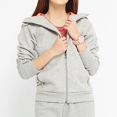 【TOP GIRL】棉質連帽外套-灰