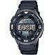 CASIO 大錶面輕量型運動電子錶-黑(WS-1100H-1A)/43mm product thumbnail 1