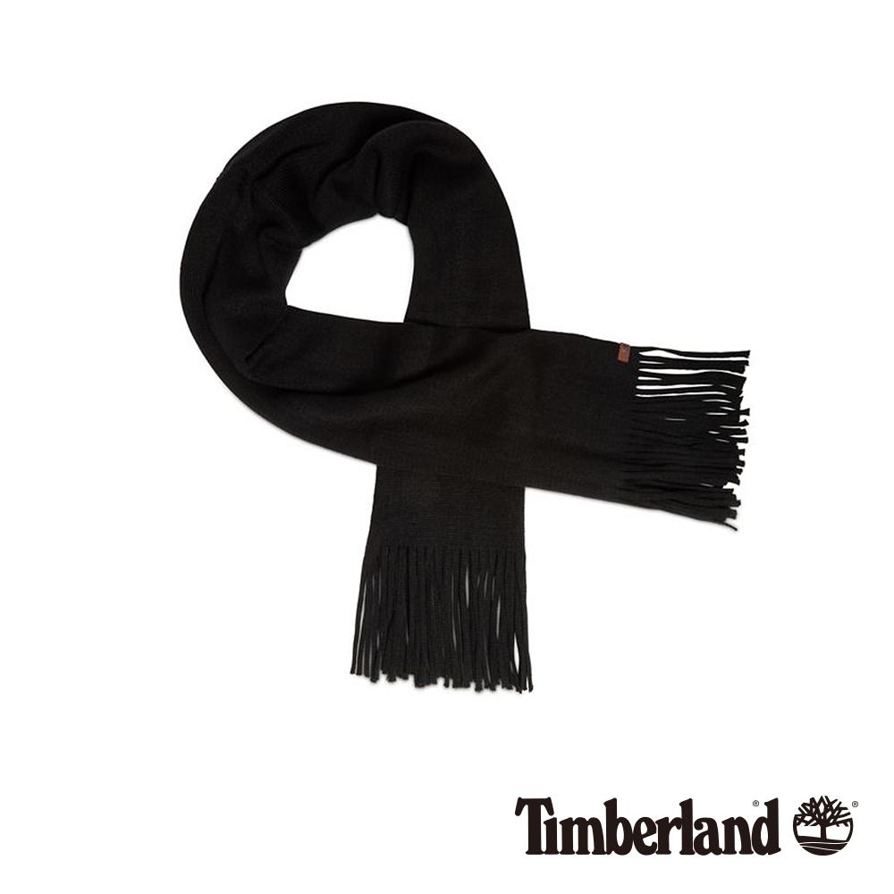 Timberland 女款黑色長版圍巾|A1EGL