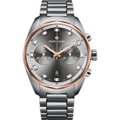 Favre-Leuba域峰表Chief系列Sky Chief Chronograph腕錶(00.10202.05.31.20)-43mm