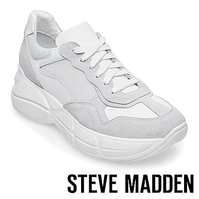 STEVE MADDEN-MEMORY潮流款拼接時尚老爹鞋-灰色