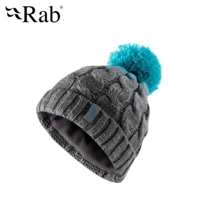 【RAB】Braid Beanie 保暖針織毛帽 鋼鐵藍 #QAA62