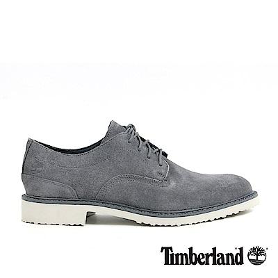 Timberland 男款深灰色麂皮淺口鞋