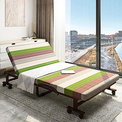 未藍生活 6段收納折疊床-寬60cm