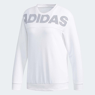 adidas 大學T Crew DN Lineage 女款