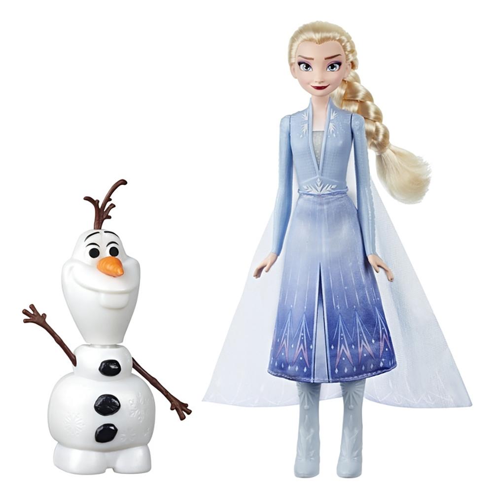 迪士尼公主系列 - 冰雪奇緣2 艾莎與雪寶人物組