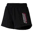 PUMA-女性基本系列Modern Sports短褲-黑色-亞規