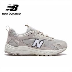 [New Balance]復古運動鞋_中性_奶油白_ML615KO1-D楦