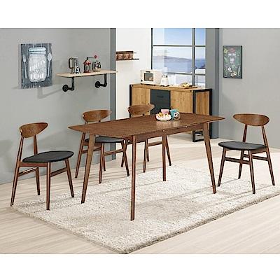 MUNA 羅恩5尺多功能收合餐桌(不含椅)  150X75X75.5cm