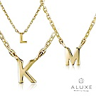 A-LUXE 亞立詩 Alphabet系列10K項鍊