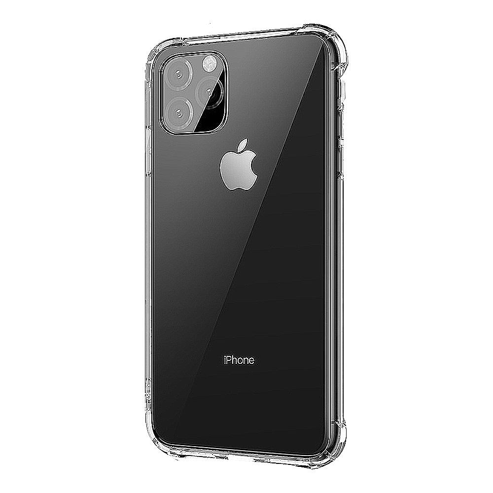 LEEU DESIGN Apple iPhone 11 Pro Max 傲熊冰封 氣囊鋼化玻璃殼