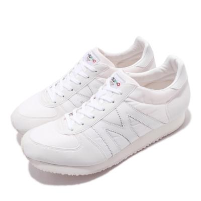 Mizuno 休閒鞋 MR1 復古 低筒 男鞋 美津濃 M-line 穿搭 基本款 白鞋 白 米 D1GA196001