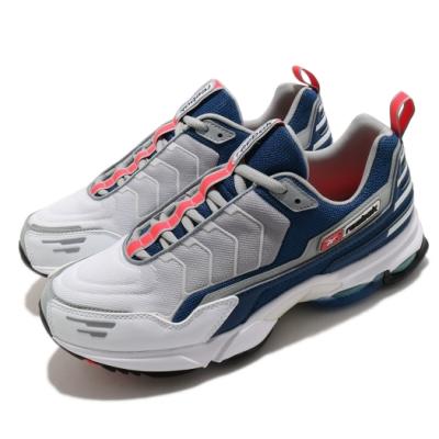 Reebok 慢跑鞋 DMX6 MMI 運動 男鞋 海外限定 基本款 舒適 避震 反光 灰 藍 DV9076