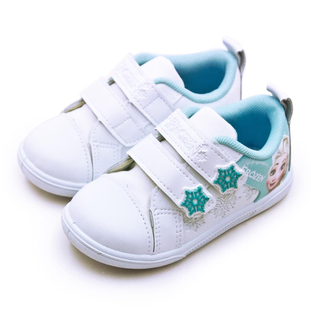 Disney 迪士尼 冰雪奇緣 FROZEN 兒童運動鞋 白粉藍 84216