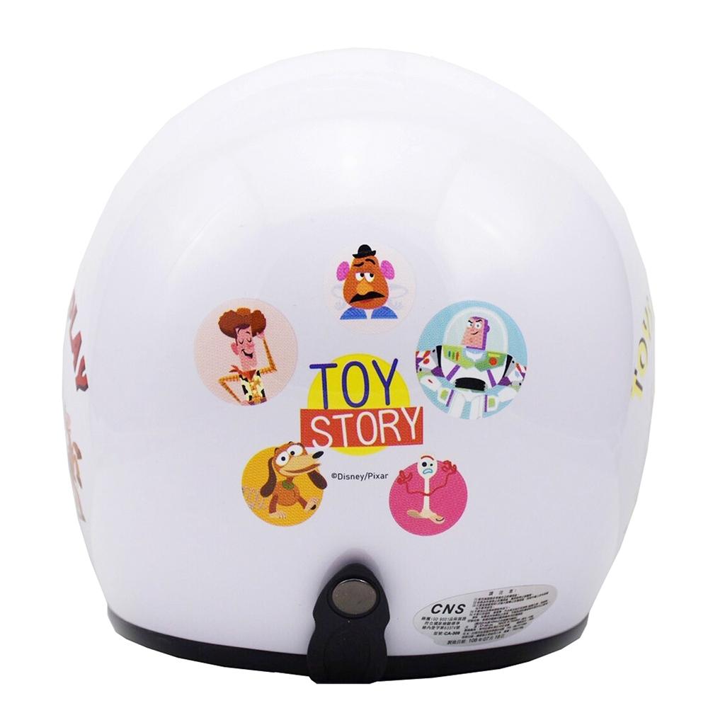 玩具總動員Toystory 3/4罩安全帽  白色款 (小帽圍 54~57cm)
