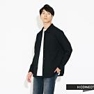 H:CONNECT 韓國品牌 男裝-素面質感雙口袋襯衫-黑