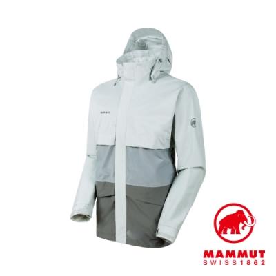 【Mammut】Heritage HS GTX 防水外套 鈦金灰 男款#1010-27720
