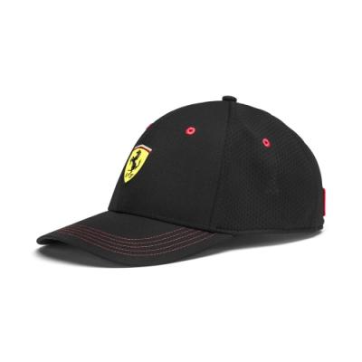 PUMA-男女Ferrari Fanwear棒球帽-黑色