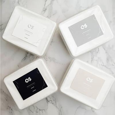 家購網嚴選 OS 水滴蛋捲 千層蛋捲酥 文青盒環保版 200gx4盒 (贈精美提袋)