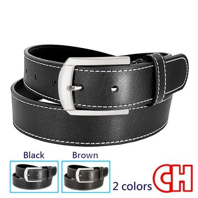 CH-BELT車線造型中性百搭休閒皮帶腰帶(多色)