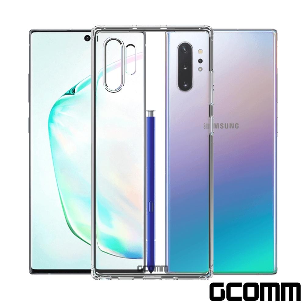 GCOMM Galaxy Note 10+ 清透圓角防滑邊保護套 Round Edge