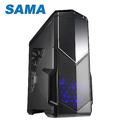 SAMA 先馬 SAI004(B) 影子戰士  黑  電腦機殼