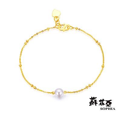 蘇菲亞SOPHIA - G LOVER系列珍情黃金手鍊