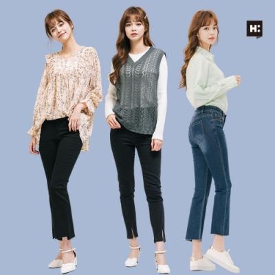 [時時樂限定]H:CONNECT 韓國品牌 女裝 -韓系造型牛仔褲-多款