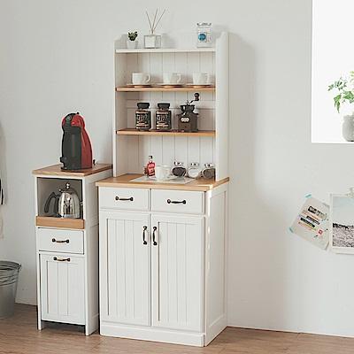 Home Feeling 廚房櫃/四層雙門/廚櫃/電器櫃-59x38X155