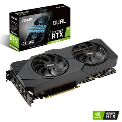 ASUS Dual GeForce RTX 2070 SUPER O8G EVO顯示卡