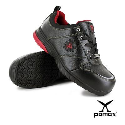 PAMAX帕瑪斯【運動休閒型頂級氣墊安全鞋】PS01717FEH-寬楦鋼頭-反光設計
