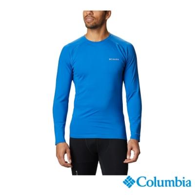 Columbia 哥倫比亞 男款- Omni HEAT3D保暖內著上衣-藍色 UAK27150BL