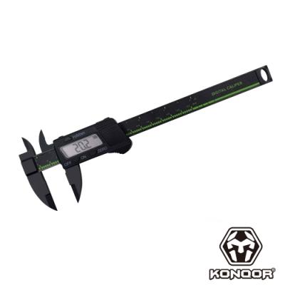 KONQOR「150mm」快測數顯游標卡尺 (黑色)