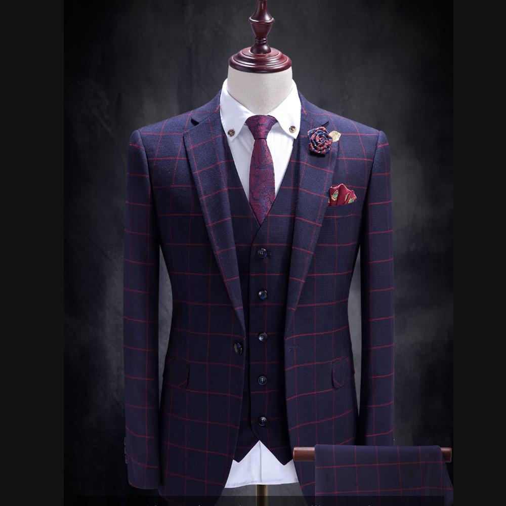 拉福   領帶窄領帶6cm領帶手打領帶(紅變形)
