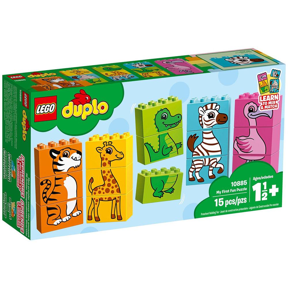 樂高LEGO Duplo 幼兒系列 - LT10885 我的第一套趣味拼圖