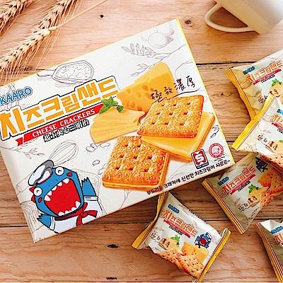 KAARO 恐龍濃厚起士三明治餅乾(208g) @ Y!購物
