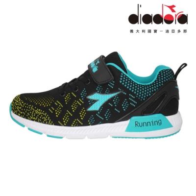 Diadora 兒童潮流鞋 大童 加寬楦 黑 DA9AKC7150